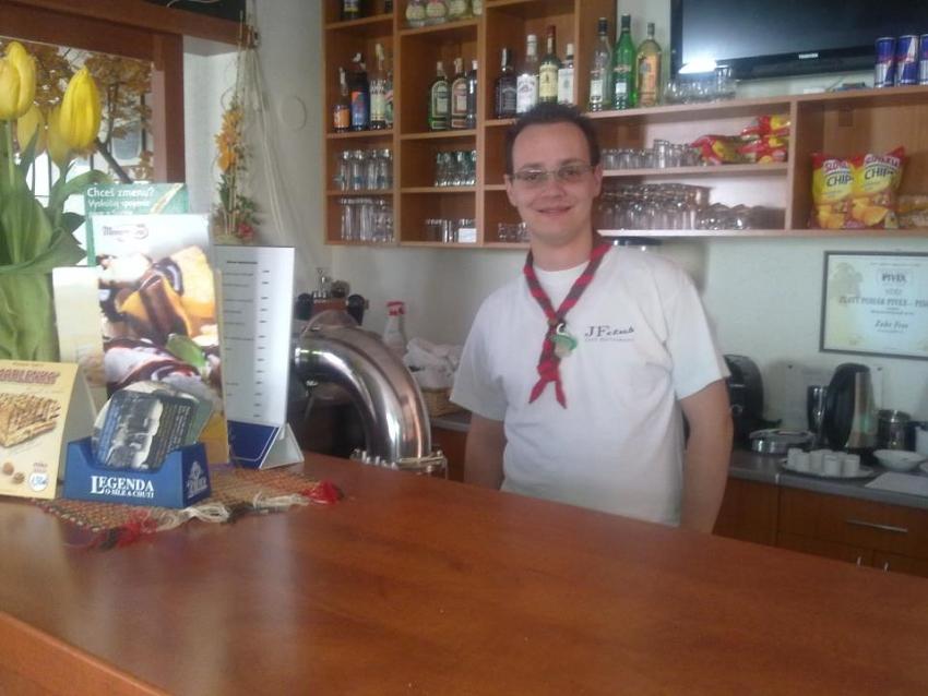 Jozef Dodik Gancarčík 1. skautský oddiel Veselé tváre Svit