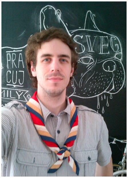 Martin Stasz 1. zbor Baden-Powella Bratislava